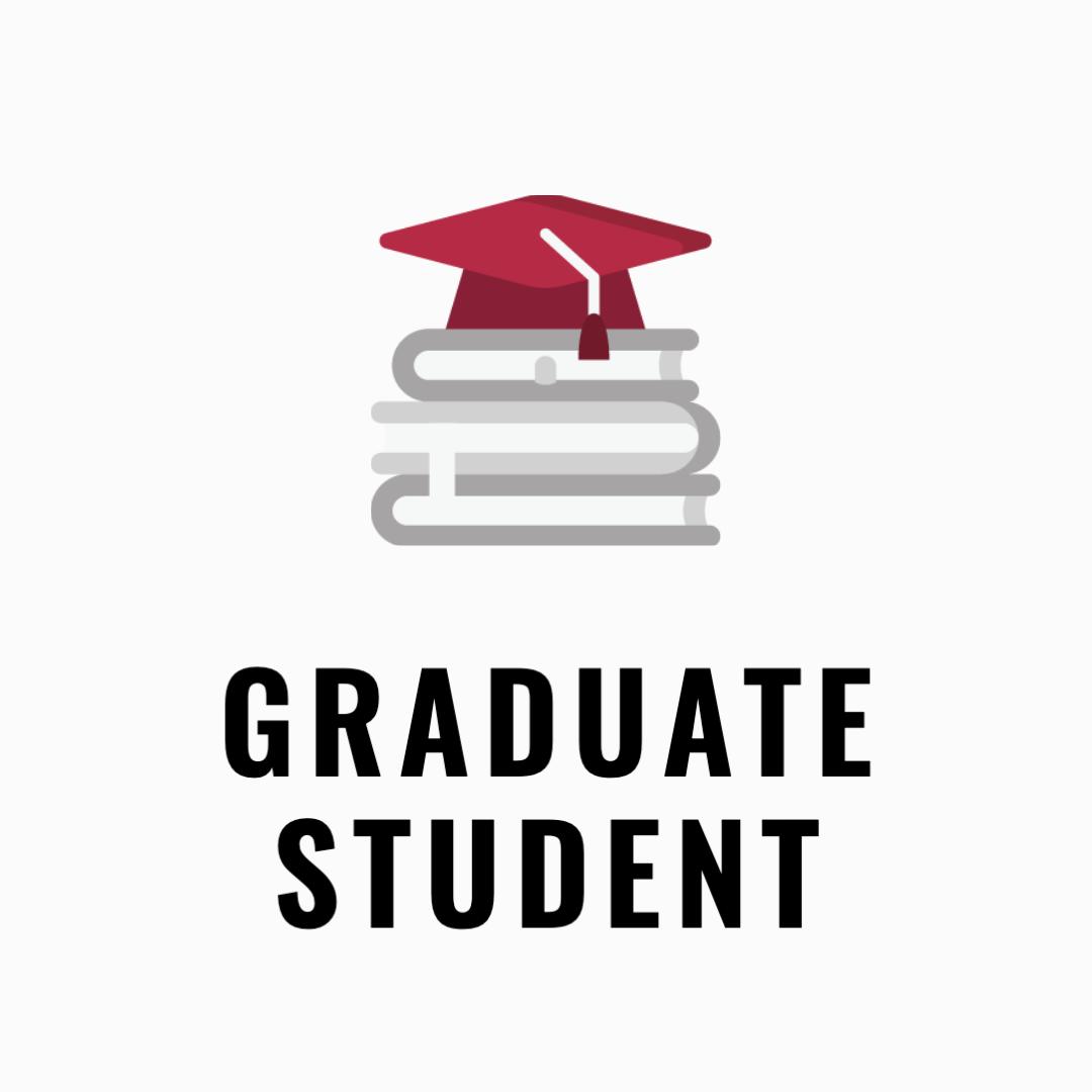 Graduate student application icon