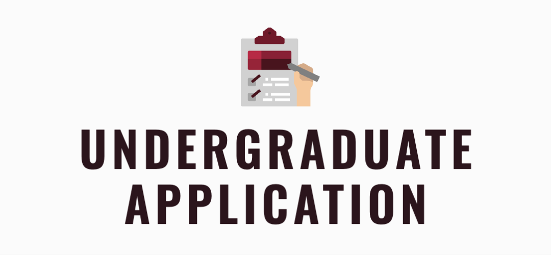 Incoming first year with an icon showing an application form