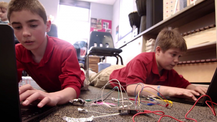 Bismarck Students explore programing