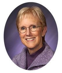 Past President Dr. Ellen-Earle Chaffee