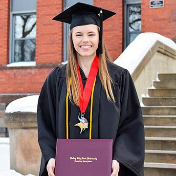 VCSU graduate Grace Gonzalez