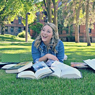 VCSU student Hannah Dockter
