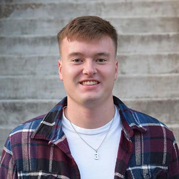 VCSU student Hunter Sand