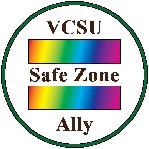 VCSU Safe Zone Ally logo