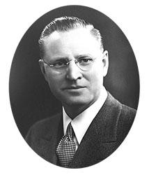 Past President Joachim Frederick Weltzin III