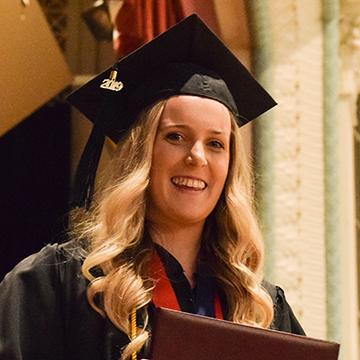 VCSU alumna, Kadie Anderson
